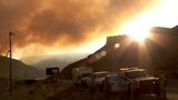 Fire crews gain containment of Dollar Ridge Fire, U.S. 40 speed limit reinstituted