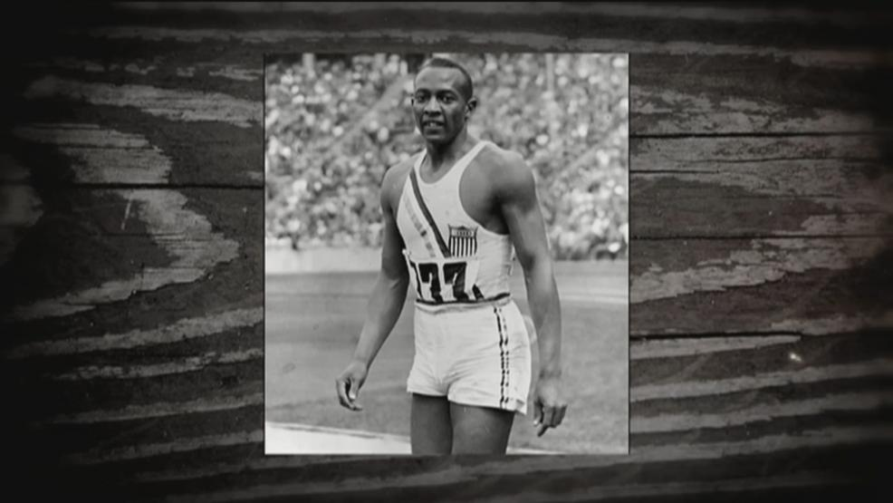 Jesse Owens at Berlin Olympics in 1936 (WSYX/WTTE)