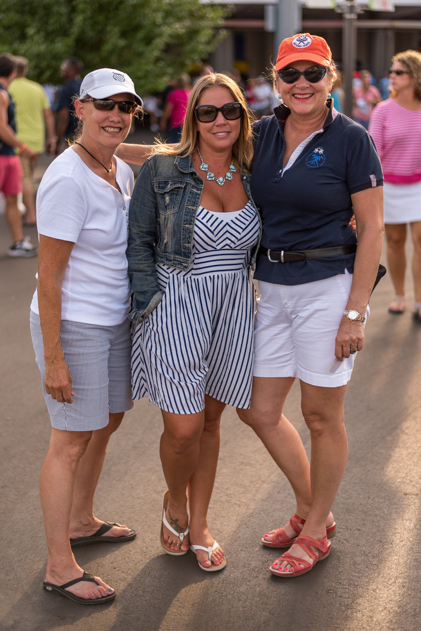 Lisa Falk, Carol Simmons, and Amy Wilke / Image: Mike Menke // Published: 8.18.17