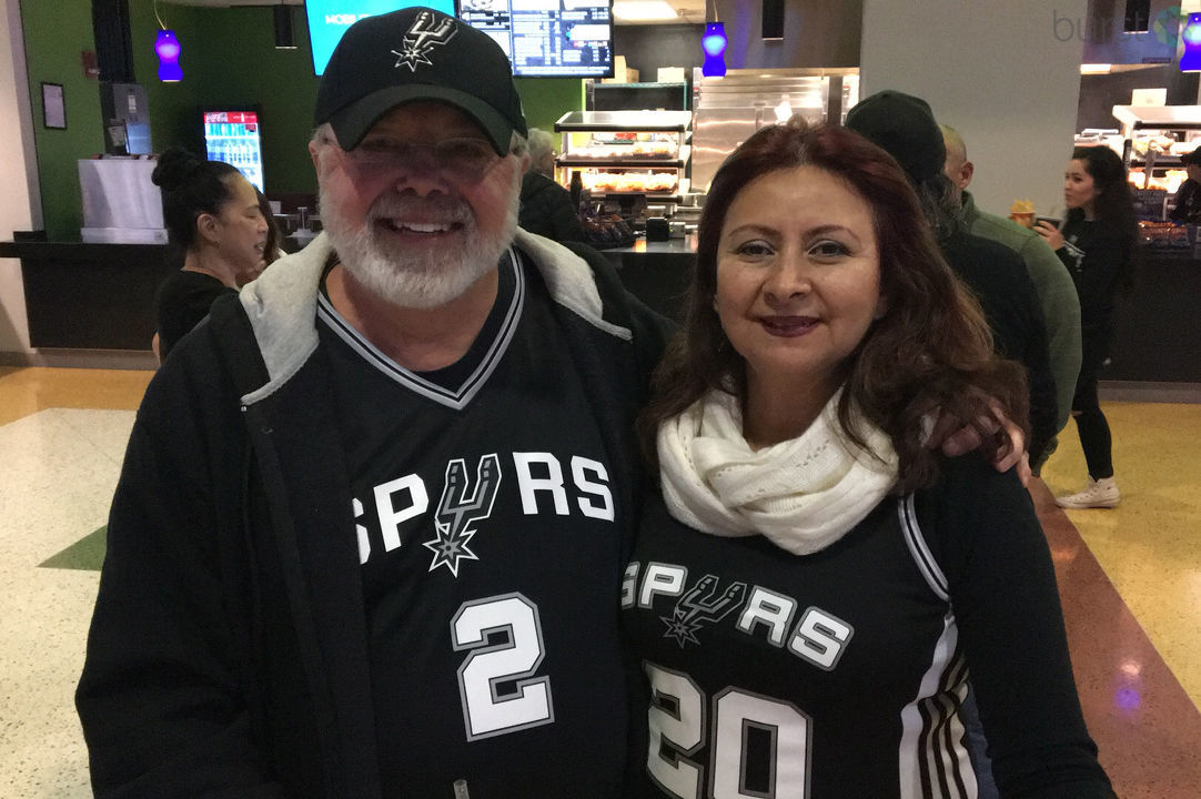 Let's see YOUR Spurs Spirit. Text the word SHARE to 44332 and follow the directions.