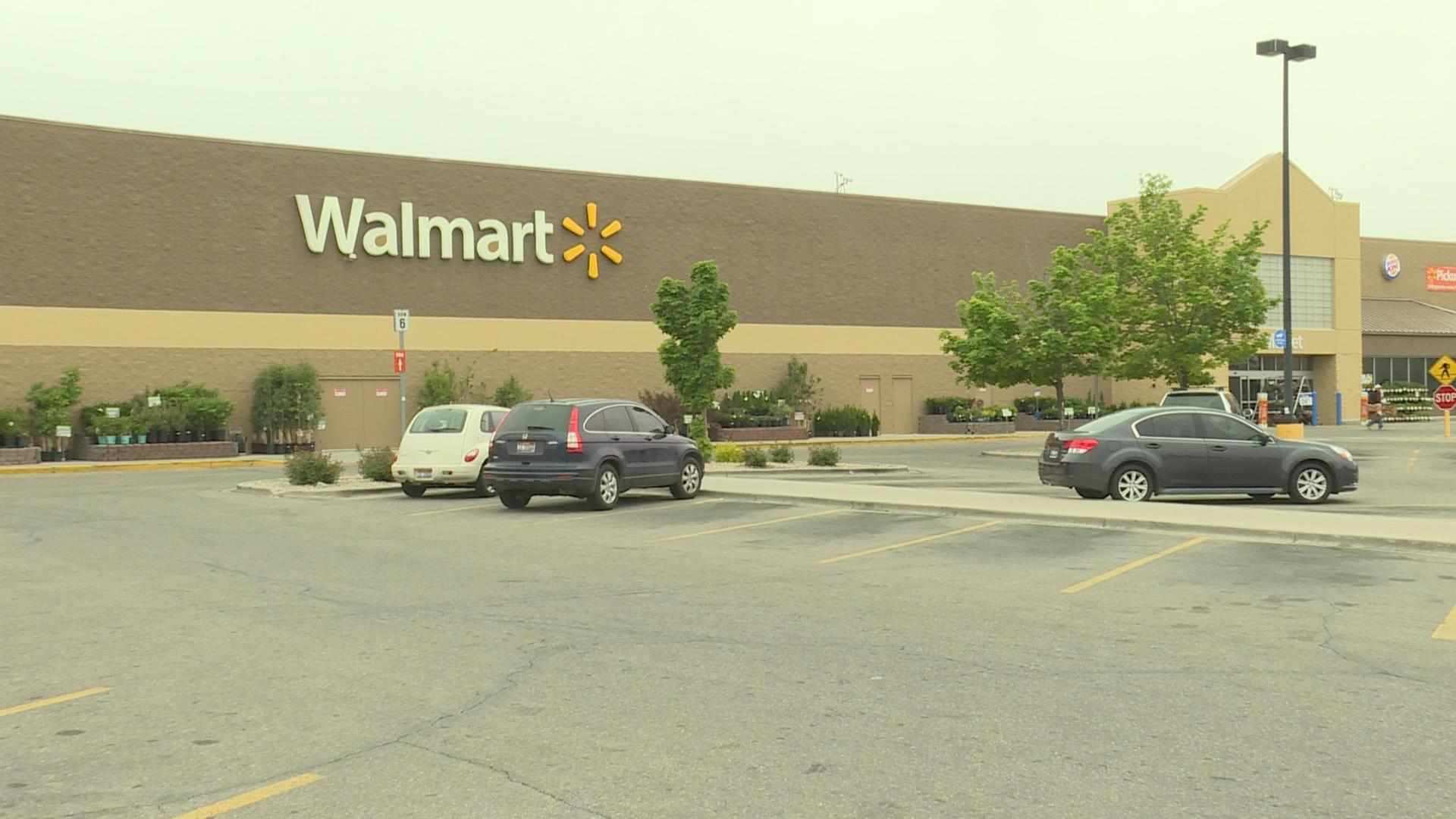 Police are looking for a suspect who attempted to rob a vehicle in the parking lot of a Meridian area Walmart early Tuesday morning.
