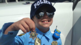 Retired Tennessee sheriff makes kid's day
