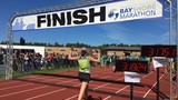 Thousands run in 35th annual Bayshore Marathon