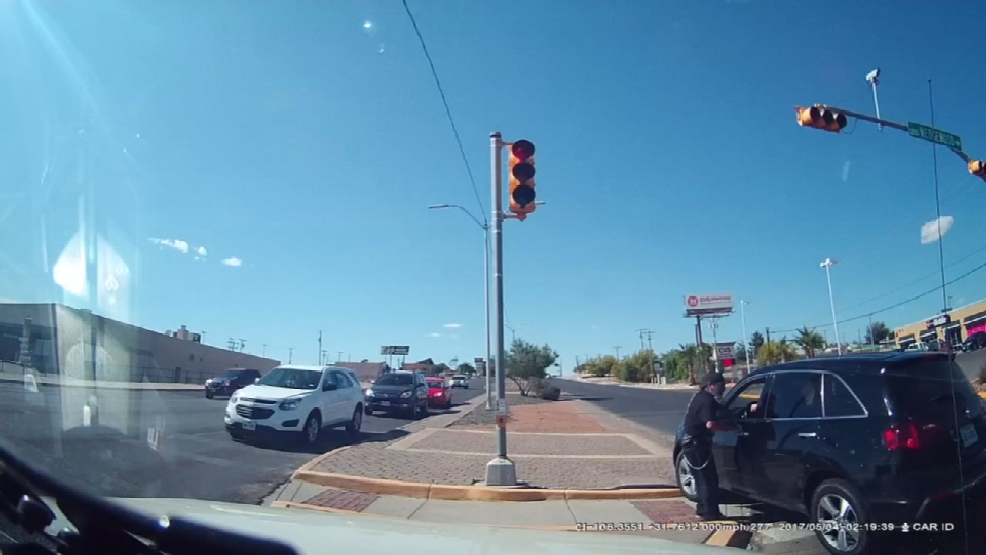 Dashcam video captures emergency situation at east el paso for Red line motors el paso tx
