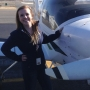 Inside the Story: College student wants to be youngest woman to fly around the world
