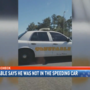 Mobile Co. Constable says he was not the one driving the speeding unit
