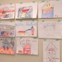 Grantham Elementary Poster Contest winners get ride in firetruck and lunch