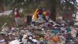 Cleanup of Mercer Street homeless encampment continues