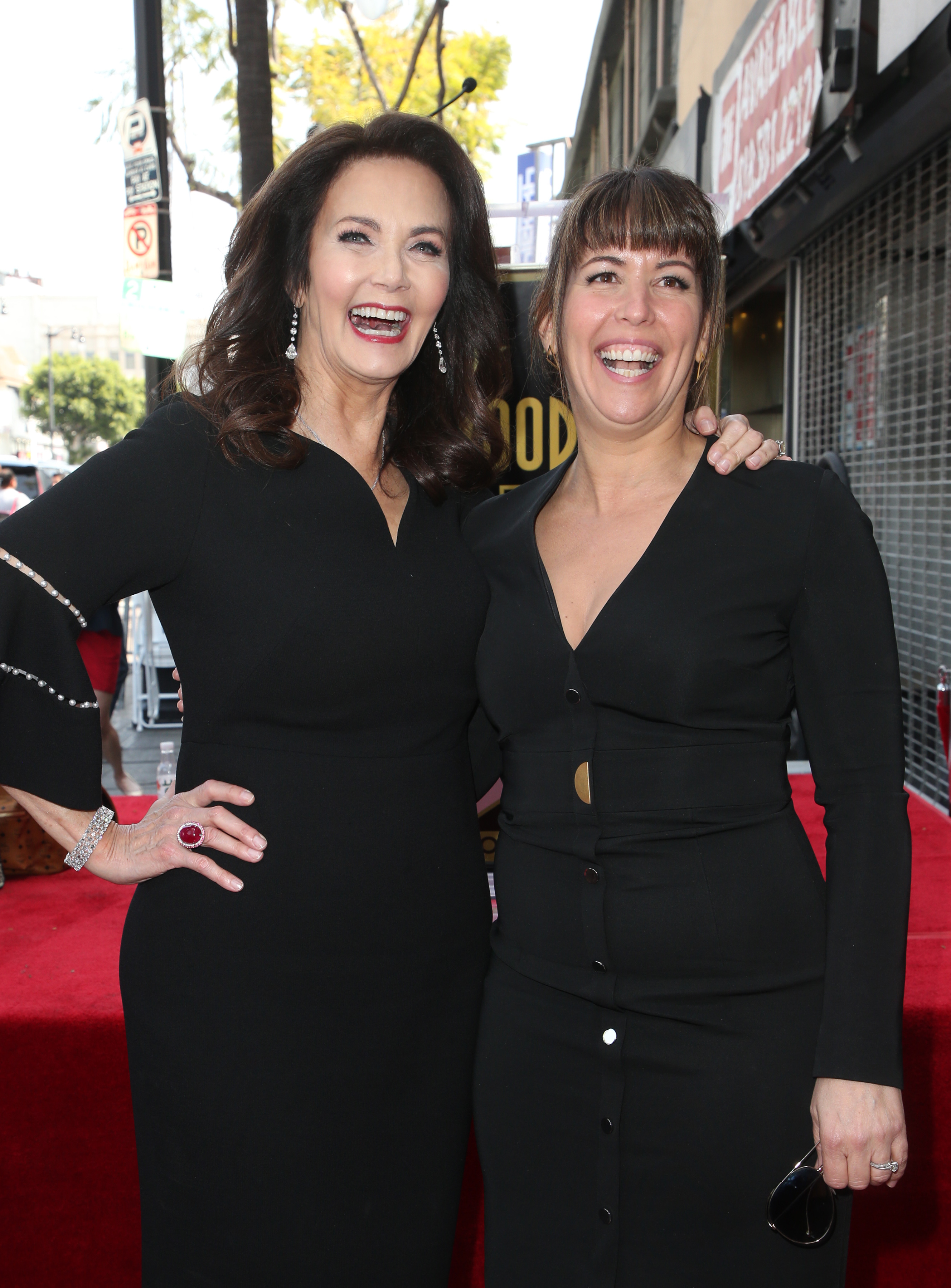 Lynda Carter Honored With Star On The Hollywood Walk Of FameFeaturing: Lynda Carter, Patty JenkinsWhere: Hollywood, California, United StatesWhen: 03 Apr 2018Credit: FayesVision/WENN.com