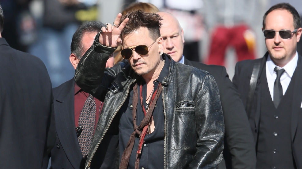 Drone operator arrested at Johnny Depp film premiere