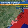 Tropical Storm Warnings issued for North Carolina coastline