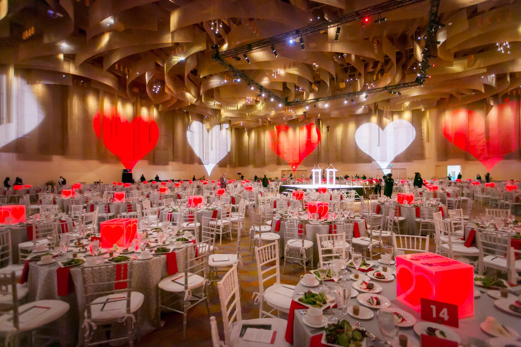 The 25th annual Cincinnati Heart Ball, a fundraiser for the American Heart Association, took place on Saturday, Feb. 24 at the Duke Energy Convention Center. / Image: Mike Bresnen Photography // Published: 2.25.18