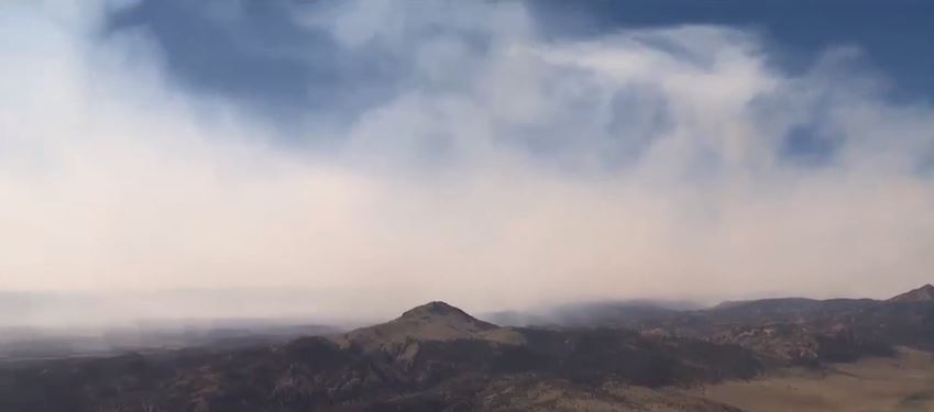 Exclusive: A look at the massive Brian Head Fire from above (Photo: KUTV)