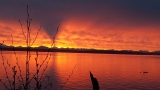 Photos: Brief, but brilliant sunrise graces Puget Sound region
