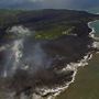 New coastline emerges as Kilauea pumps more lava to the sea