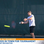 Future pros competing at Tennis Club of Rochester