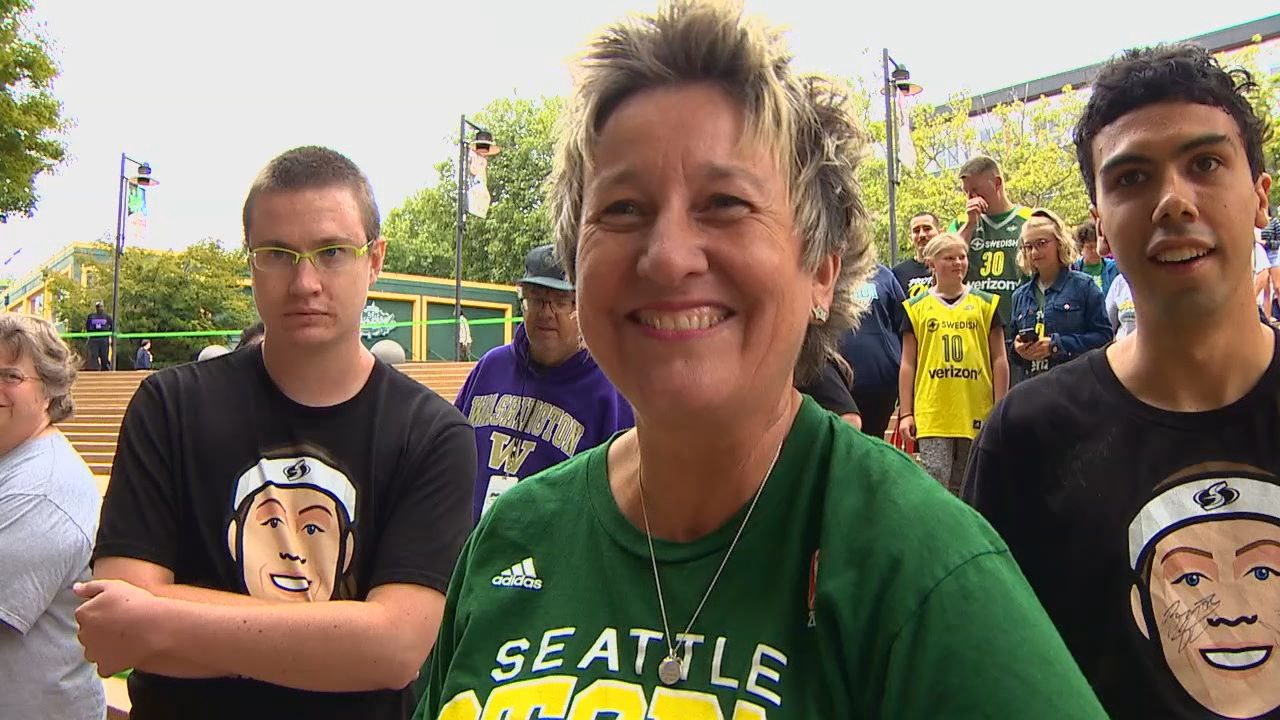 It's a huge win for the Seattle Storm on Sunday as they begin their playoff run toward another WNBA title. (Photo: KOMO News)