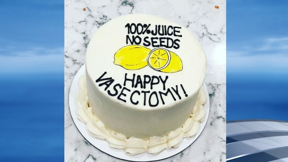New Trend? Nashville bakery creates 'Happy Vasectomy' cake | WTVC