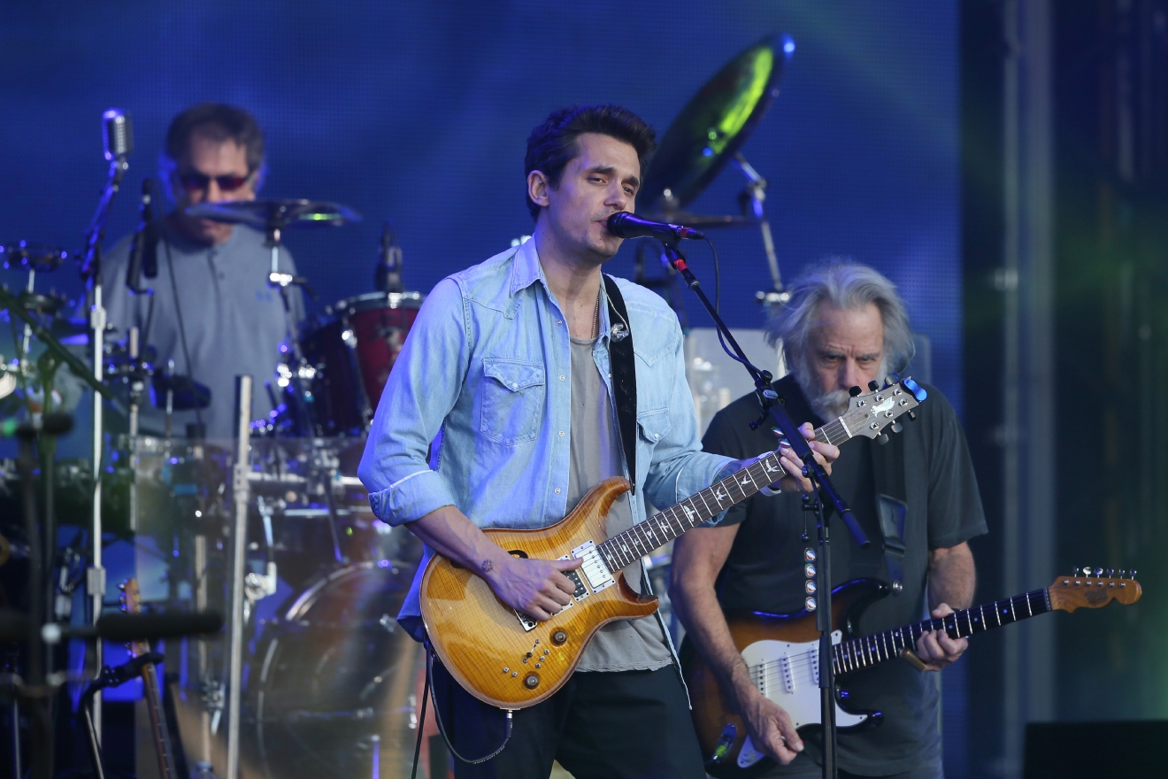"John Mayer will touch down at the Verizon Center for his ""Search for Everything World Tour"" on April 6. (Image: Michael Wright/WENN.com)"