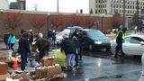 UM-Flint's annual food giveaway helps feed hundreds of Genesee County families