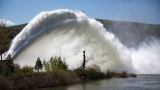 Photos: Lucky Peak Rooster Tail struts its impressive water display