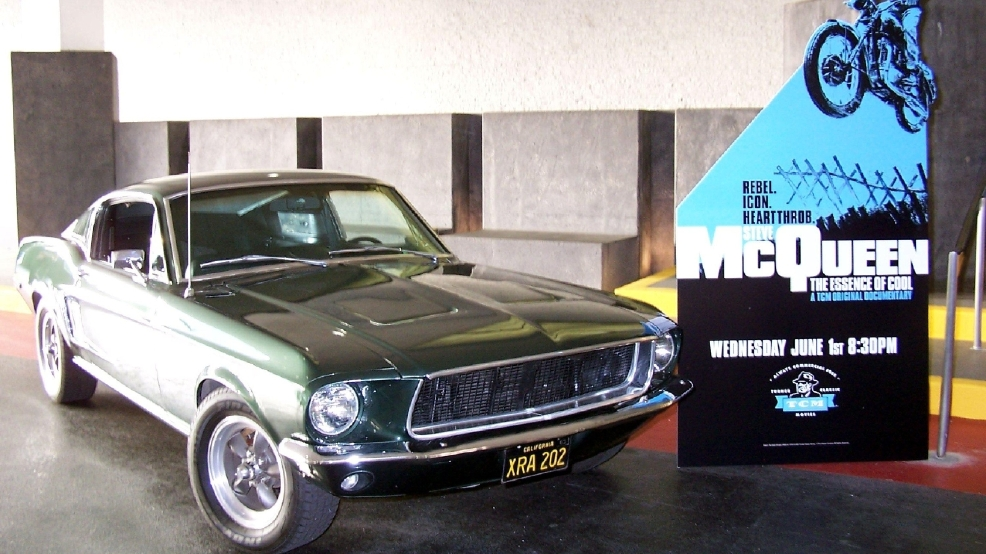 Steve McQueen's 'Bullitt' car found on a scrap heap
