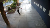 Man caught on video throwing rock through Bremerton school window