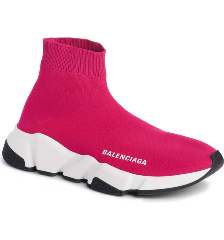 Balenciaga Speed Knit Sneaker $765-$795. Give the special lady in your life a gift to help her shine. Nordstroms helped us shop for a standout gift she'll love! (Image courtesy of Nordstrom).
