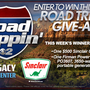 Road Trippin' Sweepstakes - July