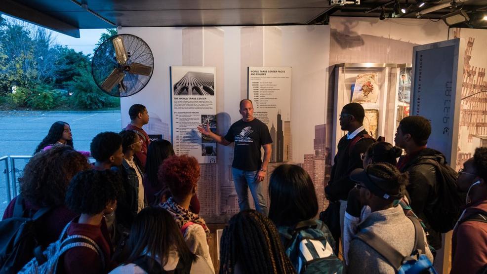 West Valley City welcomes 9/11 memorial mobile exhibit