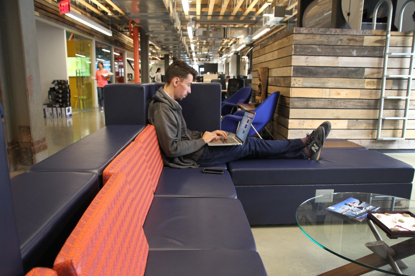 Like Google, a nap pod is available to employees. (Amanda Andrade-Rhoades/DC Refined)