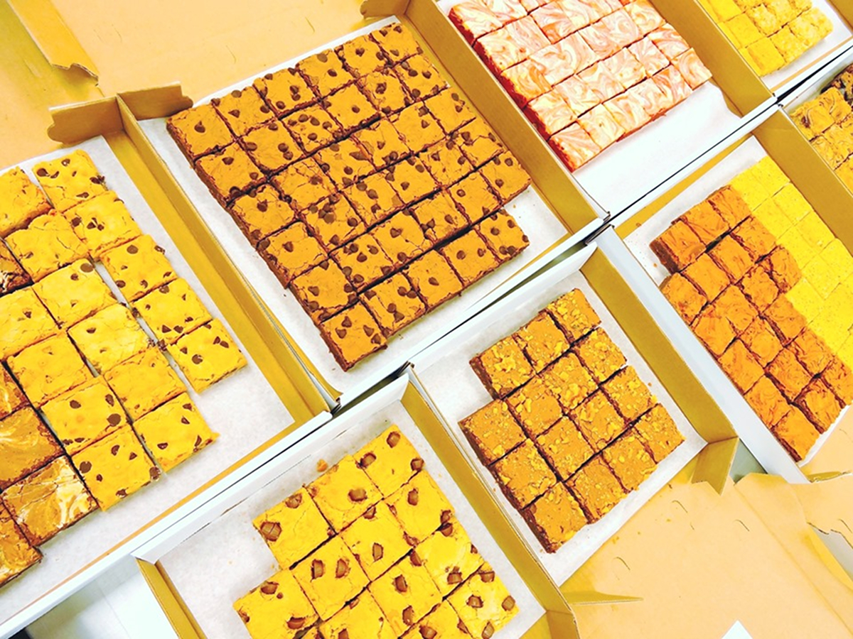 Buckabee Brownies is Cincinnati's first and only brownie and blondie-focused bakery. Married duo Miriam Spitz and Tom Kahan decided to take Miriam's love of baking and turn it into a Blue Ash bakery specializing in all kinds of classic and creative flavors of the delectable square treat. ADDRESS: 4756 Cornell Road (45241) / Image courtesy of Buckabee Brownies // Published: 6.6.19