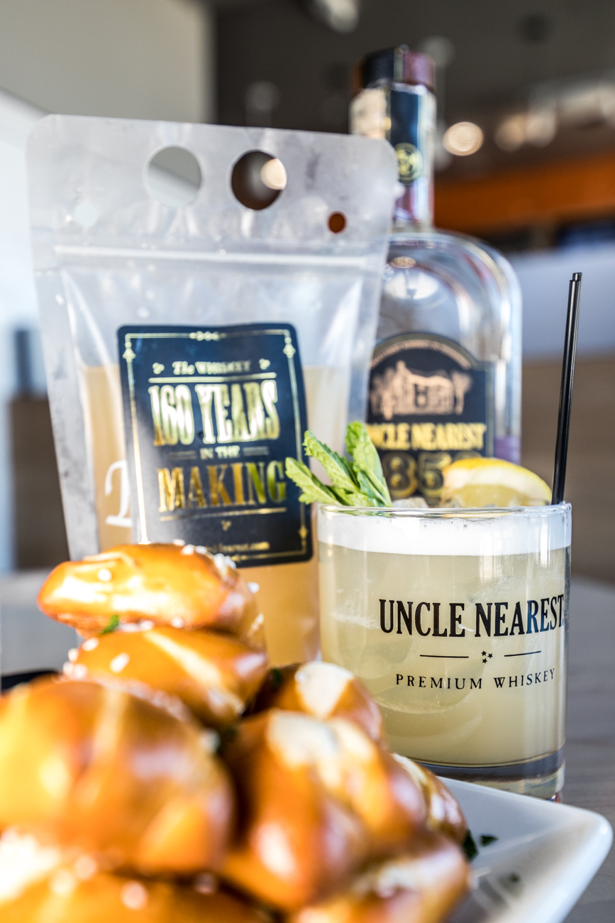 PLACE: Kitchen 1883 / ADDRESS: 7640 Beechmont Avenue (Anderson) / Tennessee Smash: Uncle Nearest whiskey, honey, ginger syrup, ginger limeade, and lime juice / Carryout available online and delivery through Grubhub: kitchen1883.com / Image: Catherine Viox // Published: 4.28.20