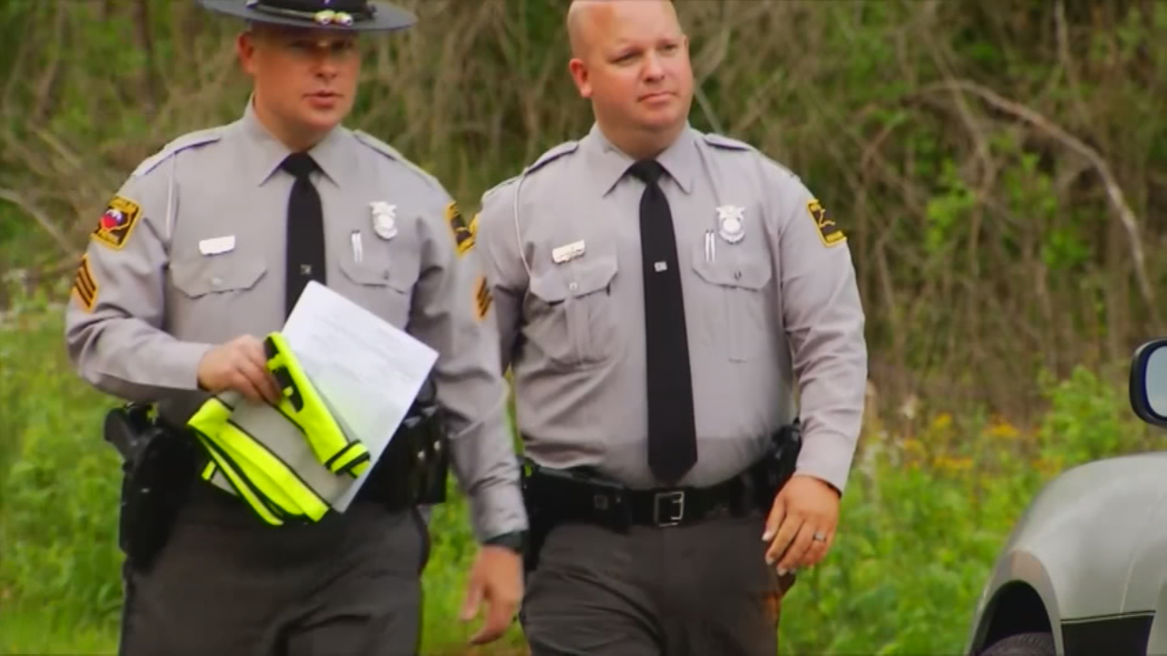A trooper's report said Angela Cody got out of a car when it was going 35 mph on Grapevine Road near Marshall. She was run over by the car's rear wheel and pronounced dead later that day. (Photo credit: WLOS staff)