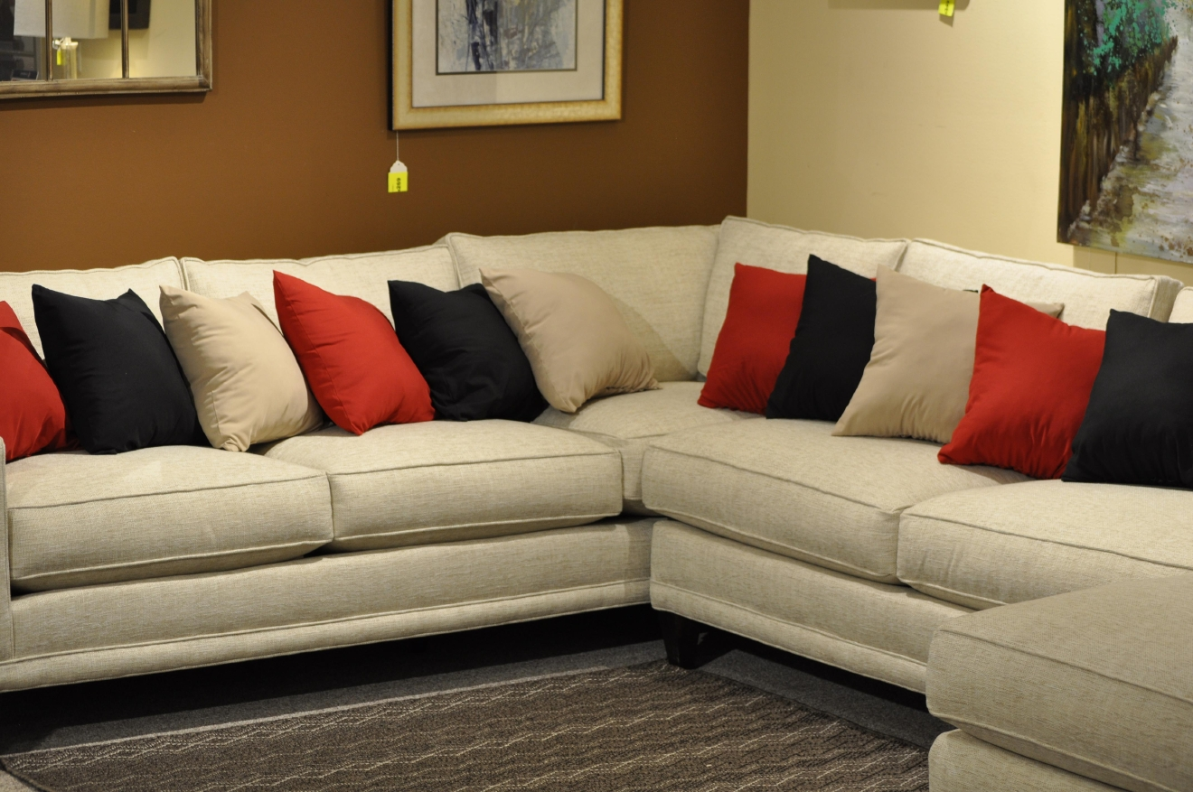 Pillows Are Prepared For The Contestants During The Fabulous Furniture  Giveaway, March 2, 2016