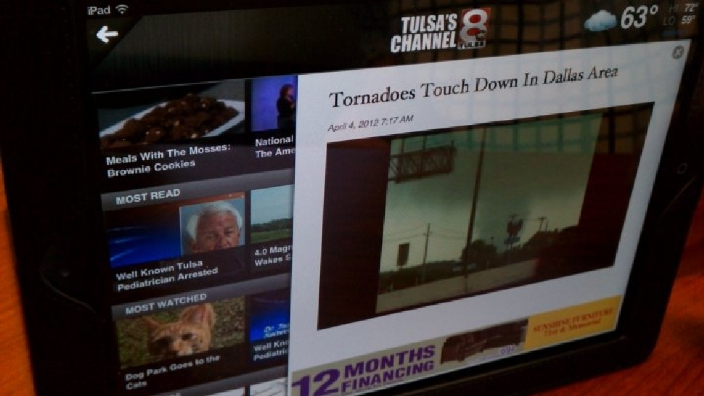 Tulsa's Channel 8 Debuts New iPad App | KTUL