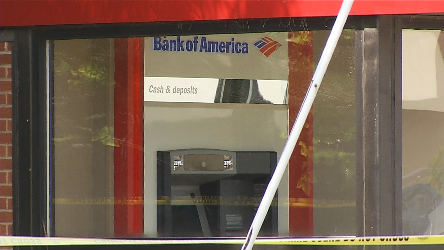 Overnight robbery at a Providence ATM
