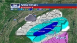 Second round of snow expected Friday evening