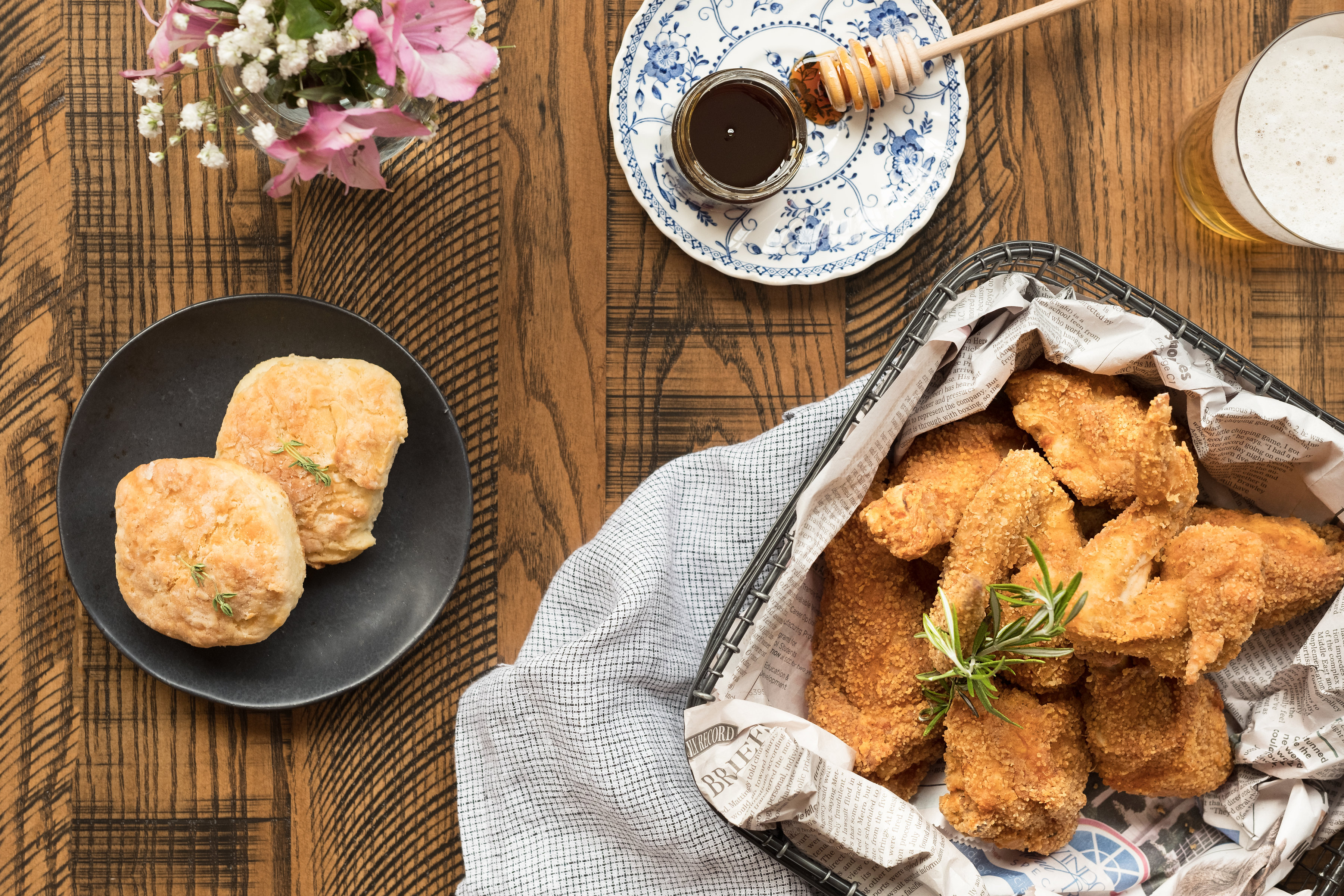 The fried chicken at Ida B's Table is a great place to start. (Image: Raqui Minwell)