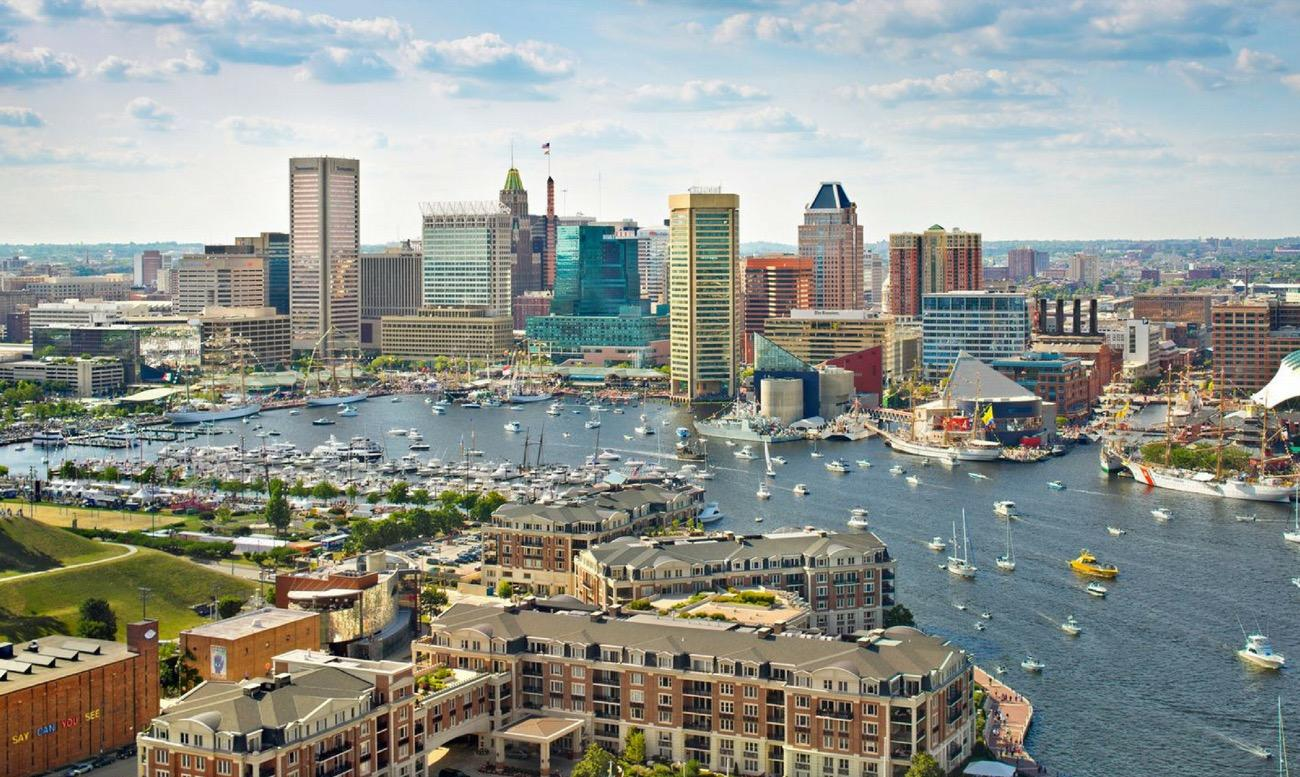 CITY: Baltimore / DISTANCE: 424 miles from Cincinnati / REASON TO GO:{ }Baltimore's Inner Harbor is a tourist entertainment hotspot with museums, a ballpark and football stadium, concert halls, dining, and like a bazillion other things to do in the area. Plus, it has Mr. Trash Wheel, the googly-eyed, water-wheel boat that scoops trash out of the water. You'll want a selfie with him. / Image courtesy of Visit Baltimore // Published: 8.30.18