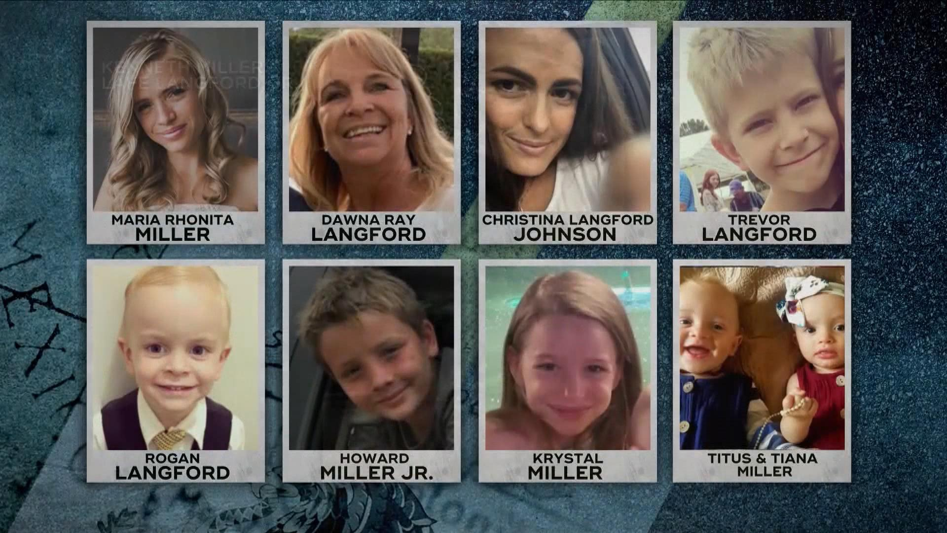 Nine members of the LeBaron family, dual U.S.-Mexican citizens, were killed by a hail of gunfire while traveling through northern Chihuahua. (Graphic: KUTV)