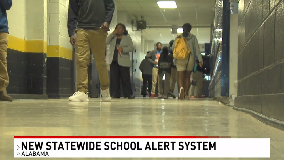 (image: WPMI) Alabama schools to soon implement new emergency alert system