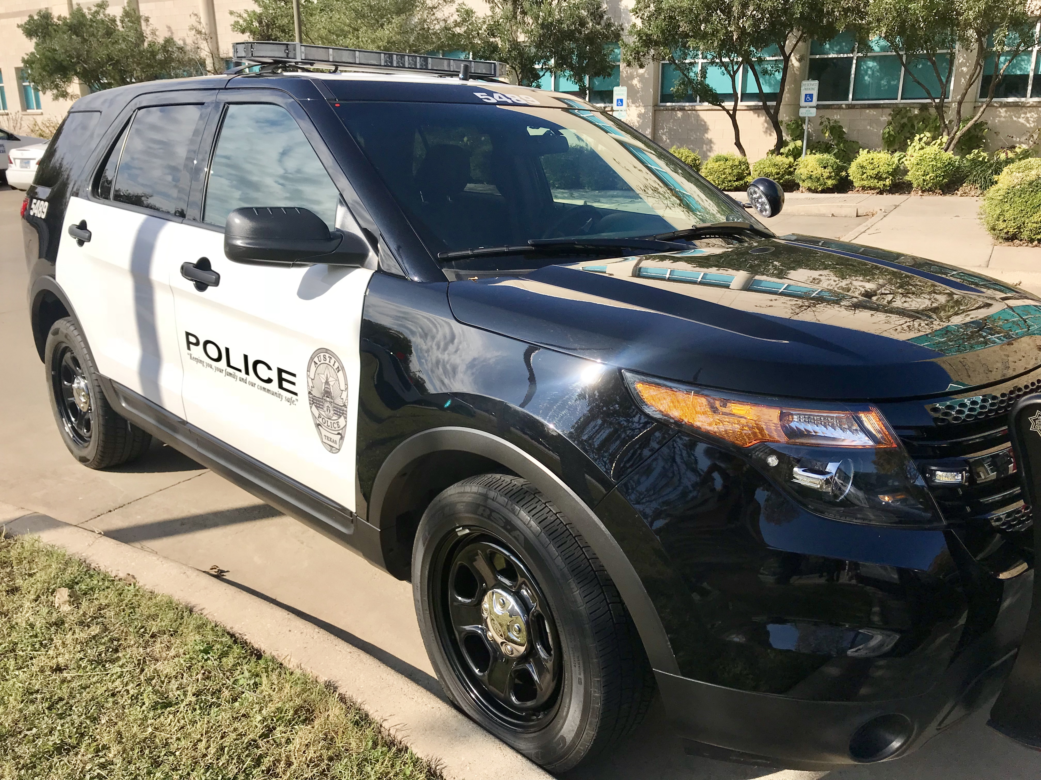 46 of 439 modified Ford Explorers are back in service after being sidelined by the Austin Police Department because of safety concerns. (Photo: Bettie Cross)<p></p>