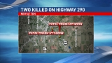 Elderly man killed in second Hwy. 290 crash Tuesday identified
