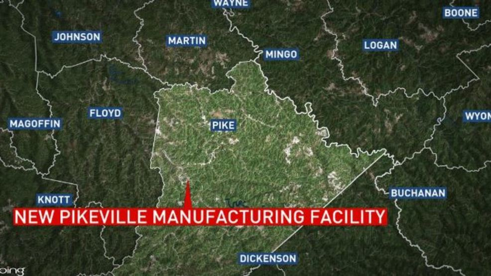 New Pikeville Ky manufacturing facility to employ about 875 WCHS