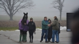 Missaukee County family transports horses to presidential inauguration parade
