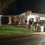 Garage destroyed, no injuries after Town of Clay home catches fire