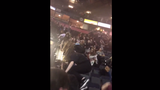 VIDEO: Concert attendees rush from arena during deadly terror attack