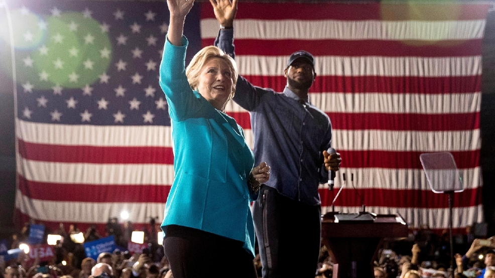 Watch live | Inside Hillary Clinton's election night party
