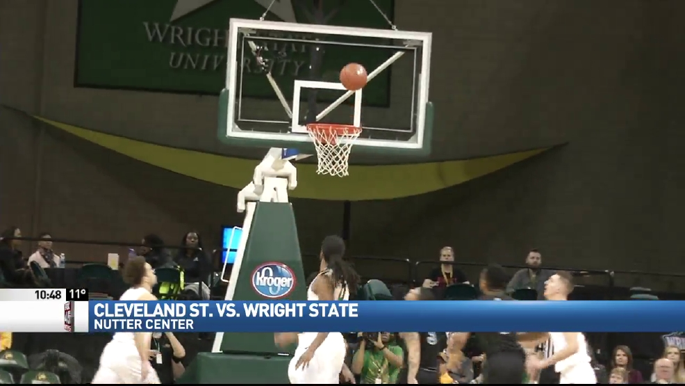 Wright State puts on aerial show against Cleveland State   WRGT